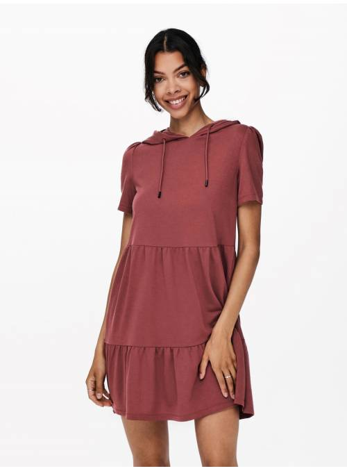MARY SWEAT DRESS RED