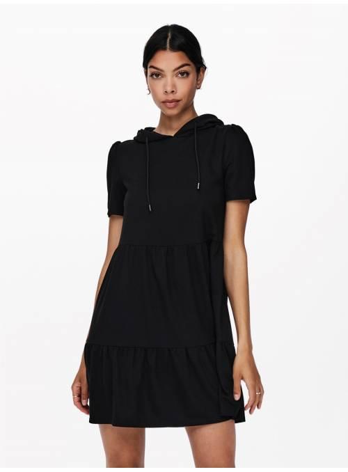 MARY SWEAT DRESS - BLACK -