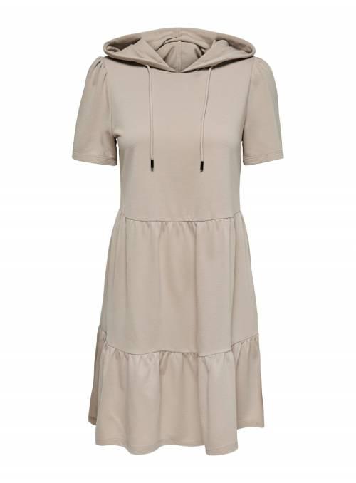 MARY SWEAT DRESS - WHITE -