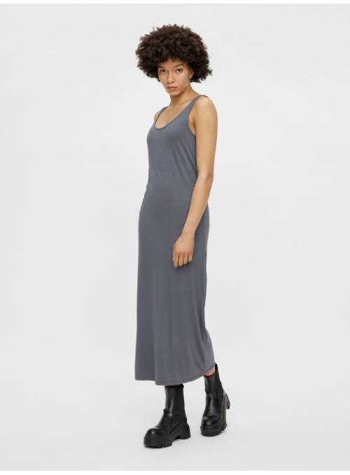 DRESS FEM KNIT VI95/EA5 - BLUE -