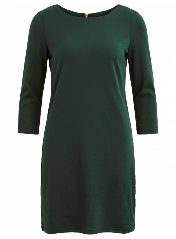 DRESS FEM KNIT PL79/VI18/EA3 - GREEN -