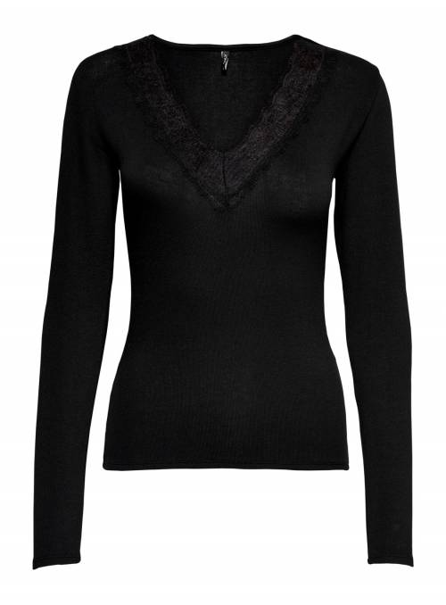 BLOUSE - CLOSED NECKLINE FEM KNIT PL65/V