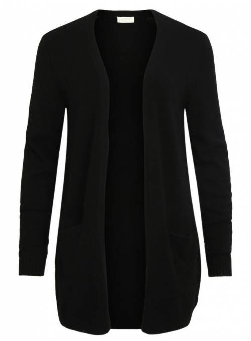CARDIGAN BASIC BLACK