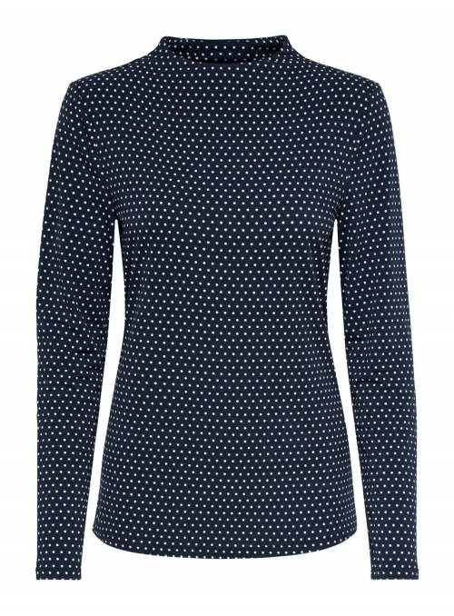 BLOUSE BLUE DOTS