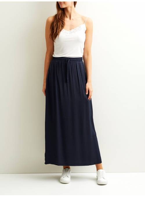 SKIRT FEM WOV PL55/VI45 - BLUE -