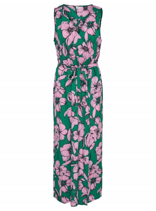 DRESS GREEN - LILAC SACH