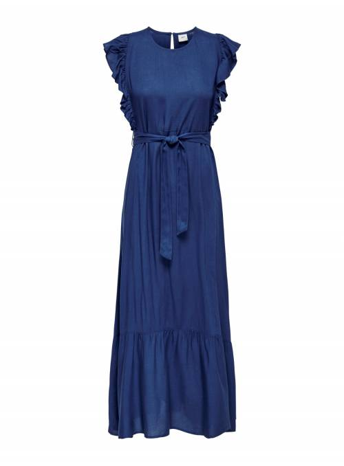 MAXI DRESS - BLUE - INDIGO