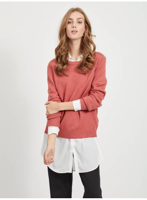 PULLOVER PRINTEMPS - RED