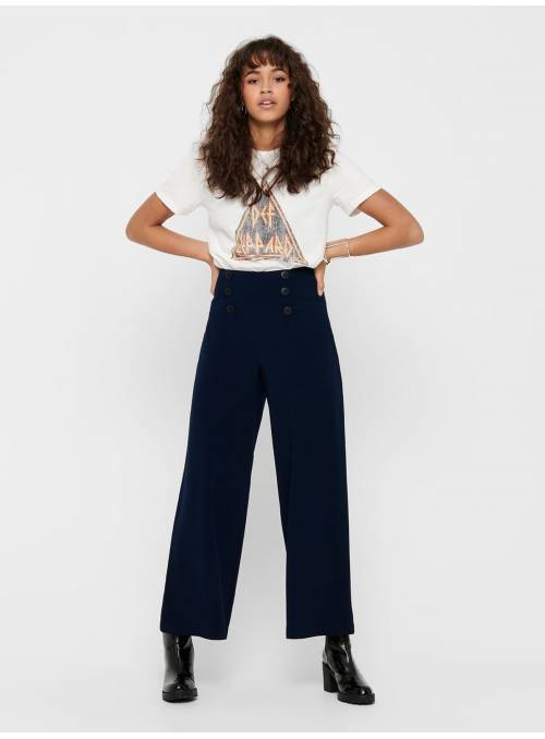 PANTS FEM WOV PL97/EA3 - BLUE -