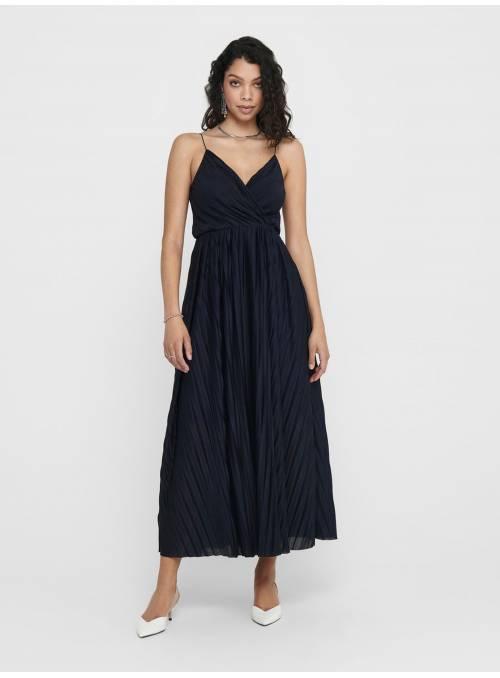 DRESS PLISADO- BLUE -