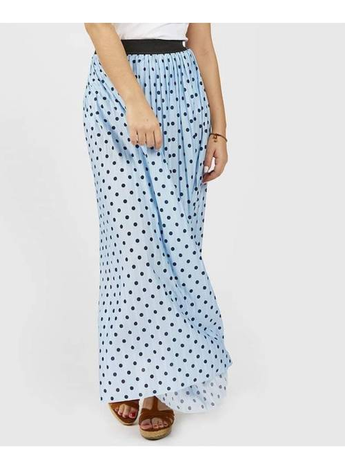 SKIRT - BLUE - CANDY DOT