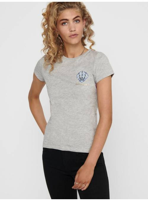 T-SHIRT - GREY - CLAM